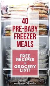 40 pre baby freezer meals recipes to try mijoteuse