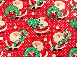 christmas gift wrap paper vintage christmas gift wrapping paper a joyful christmas santa