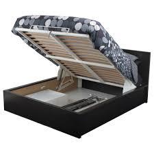 ikea bedframes shrewd storage bed frame queen malm black brown ikea www