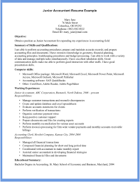 Accounting Assistant Job Description Resume by Example Of Accountant Resume