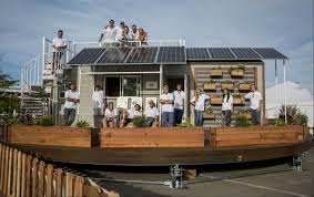 solar powered tiny houses take spotlight in california