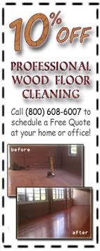 professional grade cleaning or buffing services in