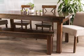 Rustic Farmhouse Dining Table With Bench Farmhouse Table James James Furniture Springdale Arkansas