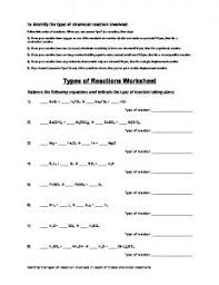 types of chemical reactions sch3uking mafiadoc com