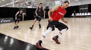 stephen curry shows up to my pick up game of basketball youtube