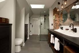 Double Trough Sink Bathroom Double Trough Sink Bathroom Industrial With Built In Dark Wooden