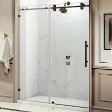 Frameless Shower Door Republic Trident 60 X 76 Single Sliding Frameless
