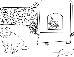 aww cute cat coloring pages