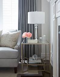 glass living room tables 28 images design modern high living room end tables bassett accent intended for side rooms