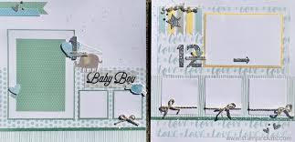 baby boy album whimsy handmade baby boy album stin buds with ctmh