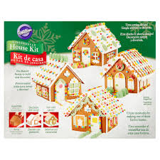 wilton pre baked gingerbread ready to assemble christmas house kit