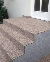 steinteppich verlegen treppe steinteppich treppe mx protec