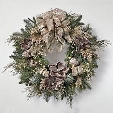 Decorating Artificial Christmas Wreaths by Holiday Wreaths Artificial Christmas Wreath Pre Lit Christmas