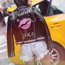 leather u0026 lace by elyse fashion blog by elyse cohen