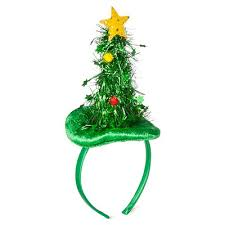 Seeking Tinsel Satin Cover Headband With Tinsel Tree Target Inventory
