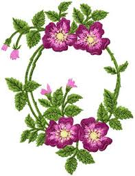 Flower Designs For Embroidery 107 Best Machine Embroidery Victorian Fan Project Images On