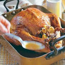 brined roast turkey with butter rub finecooking