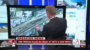 1 dead after late night car crash in kck kshb com 41 action news