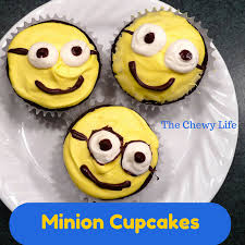minion cupcakes and easy minion cupcakes the chewy