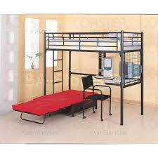 Single Futon Chair Bed Futon Armchair Twin Workstation Loft Bunk Bed With Futon Chair