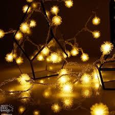 battery led string lights warm white dandelion led string lights battery operated next