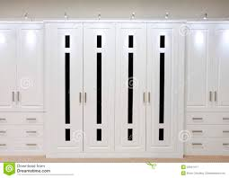 White Fitted Bedroom Furniture White Fitted Wardrobe Doors Stock Image Image 22041471