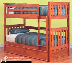 Fort Timber Bunk Bed Option For Trundle - Timber bunk bed