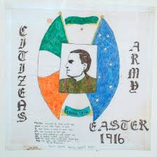 Irish Republican Army Flag Cain Northern Ireland Political Ephemera Examples Of Political