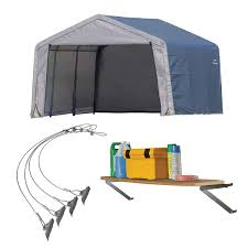 Canopy Storage Shelter by Car Shelters Costco