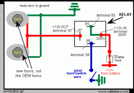 boat horn wiring diagram wiring diagram for boat horn wiring image