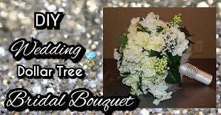 how to make wedding bouquet diy dollar tree wedding bridal bouquet how to make a bridal
