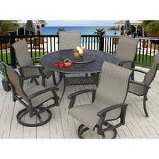 hexagon patio table and chairs hexagon patio table with swivel chairs f68x in brilliant interior