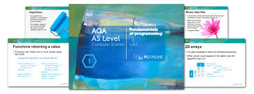 pg online aqa as level computing teaching and learning resources