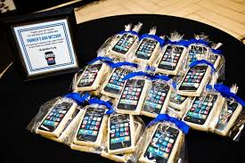 iphone app cookies bar mitzvah party favors planning party