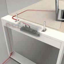 passe fils bureau passe fil bureau fresh cache cable pour bureau cool mb with cache
