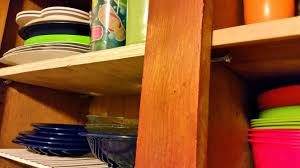 home repair fixing kitchen cabinet shelves