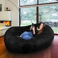 Big Joe Cuddle Bean Bag Chair Big Joe Xxl Fuf In Comfort Suede Steel Grey Bean Bag Bed