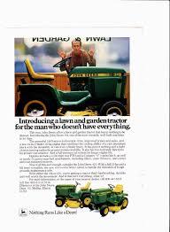 1983 john deere models 318 and 420 vintage tractor u0026 mower ads