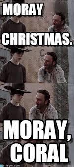 Walking Dead Birthday Meme - moray christmas carl walking dead meme on memegen