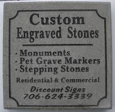 engraved stones engraved stones