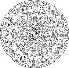 Coloriage Mandala  Les beaux dessins de Autres à imprimer et colorier