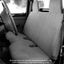 Classic Ford Truck Seat Covers - amazon com a25 toyota tacoma front solid bench gray seat covers