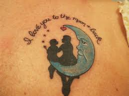 to the moon and back matching tattoos pictures to pin on