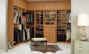 bedroom bedoorm walk in closet ideas with stool and cow rug plus