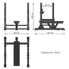 Olympic Bench Press Dimensions Atx Monster Bench Press Rack