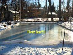 Backyard Ice Rink Kits by Nicerink Backyard Ice Rink Kit Makes Your Yard The Perfect Place