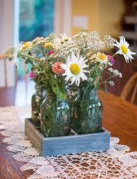 jar floral centerpieces diy jar centerpiece tray hometalk