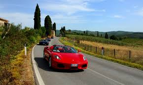 ferrary driving driving experience in tuscany