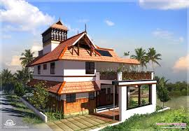 traditional style home design kerala simple traditional home