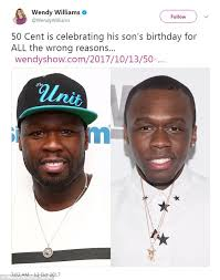 50 Cent Birthday Meme - 50 cent compares wendy williams to the beast daily mail online